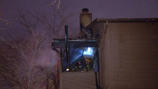 Two Escape Tulsa Condo Fire By Jumping Off Balcony