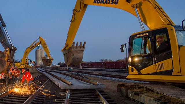 BNSF Plans $118M In Maintenance Improvements In Oklahoma This Year