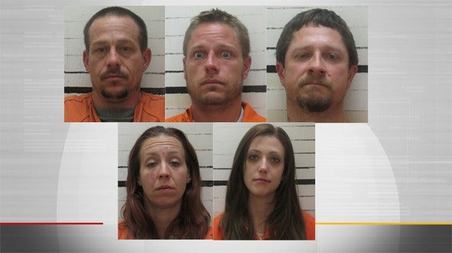 Ft. Gibson Police Arrest 5 For Breaking Into National Cemetery