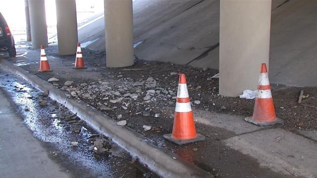 I-244 At Peoria Narrows For Emergency Bridge Repair