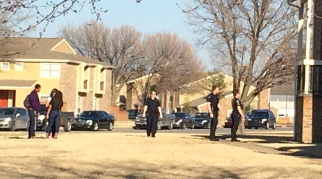 Police Search For Car Theft Suspect At Apartments Near Union High School