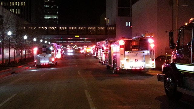Small Fire Forces 300 Guests Out Of Tulsa Hotel