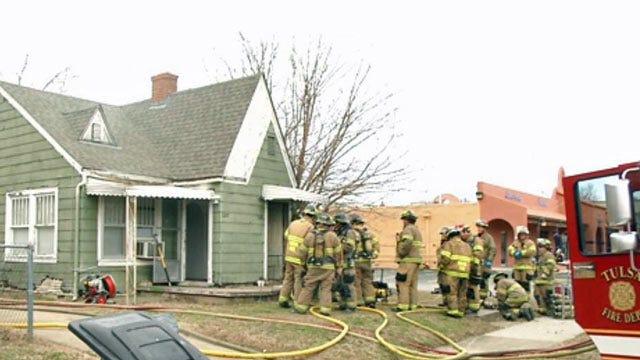 Tulsa Duplex Damaged By Fire
