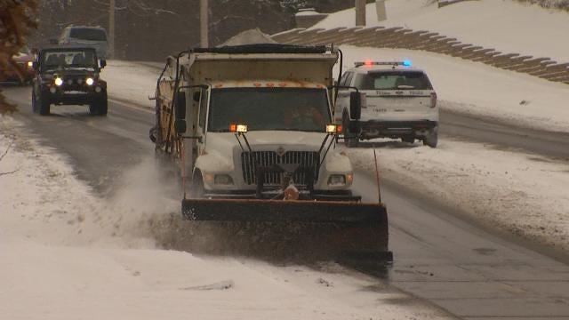 Tulsa Street Maintenance Prepares For More Winter Weather