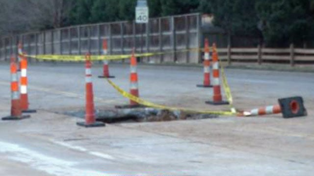 Tulsa Traffic Alert: Large Hole On Lewis Near 41st Street