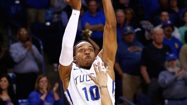 Woodard Leads Tulsa Past Tulane