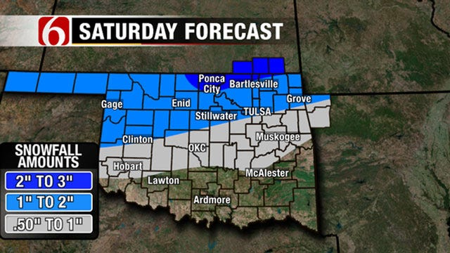 Alan Crone's Weather Blog: Winter Weather This Weekend