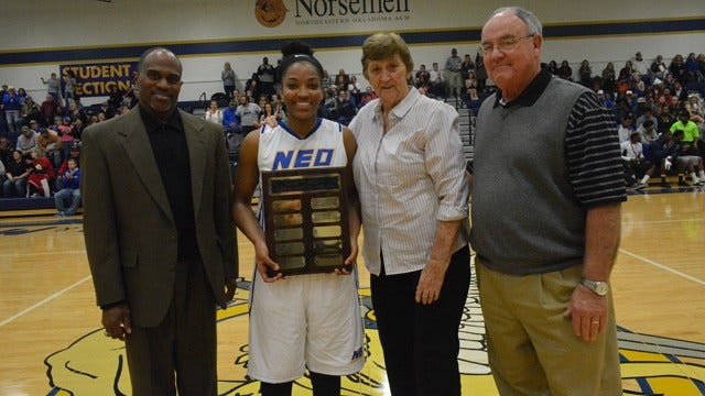 NEO's Asia McCaskill Earns Dixie Woodall Inspirational Award