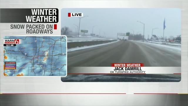 Turnpike Authority, ODOT Give Road Conditions Updates