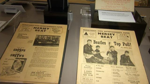 Ladies And Gentlemen...The Beatles! Comes To Tulsa's Woody Guthrie Center