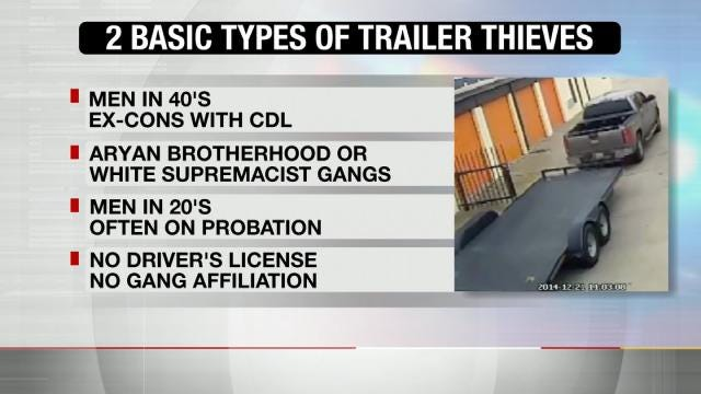 Trailer Thefts A Common Crime In Tulsa