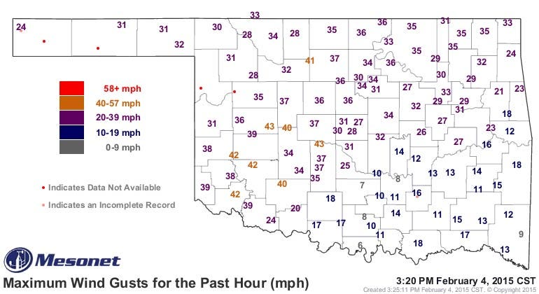 Dick Faurot's Weather Blog: Another Shot Of Cold Air, But Not For Long