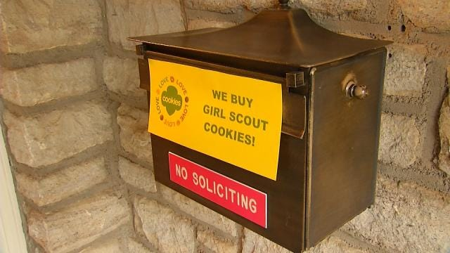 Girl Scouts Run Into Sales Bumps With Residential 'No Soliciting' Signs