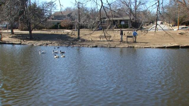 Police: Body Found In North Tulsa Pond Is City's 9th Homicide Of 2015