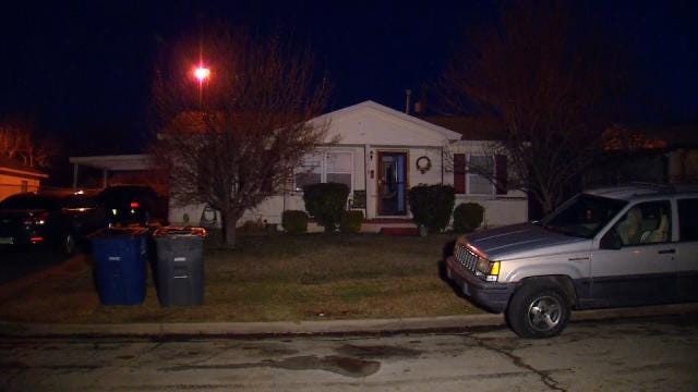 Police: Dozens Of Bullets Fired At North Tulsa Home