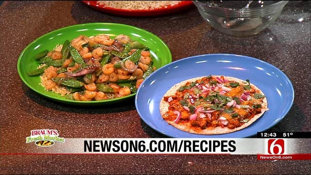 Weight Watchers: Asian Skillet Shrimp & Sugar Snap Peas