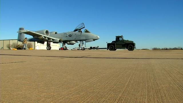 A-10 Warthog To Take On Oklahoma's Thunderstorms