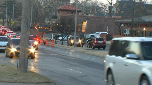 Tulsa Police: SUV Hits Woman Chasing Man Across Lewis