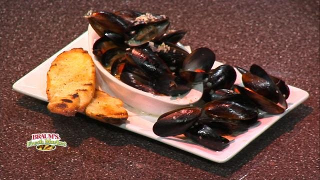 Mussels From The Wine Loft & La Crepe Nanou