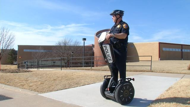 New Segways Help TCC Officers Respond Quicker, More Efficiently On Campus
