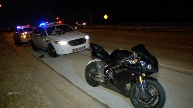 Owasso Police: Overnight Motorcycle Chase Reaches Speeds Over 100 MPH
