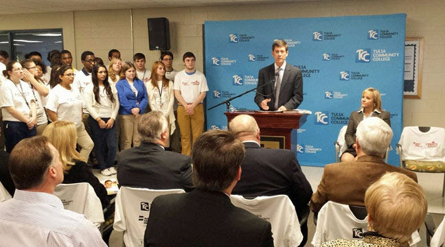 AEP Announces $3 Million Grant To Tulsa Education