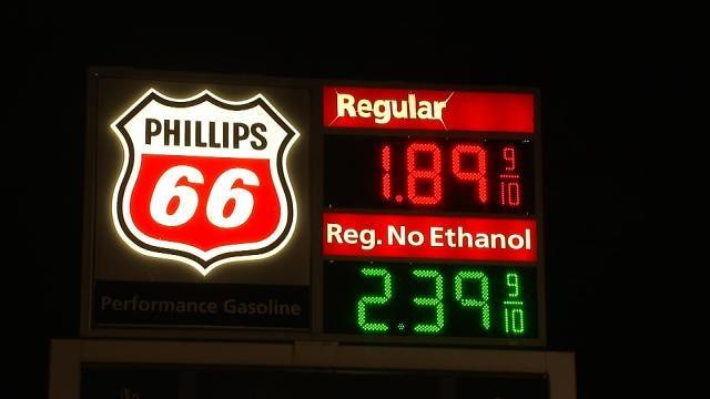 Price Of Gasoline In Tulsa Back To Almost $2 Per Gallon
