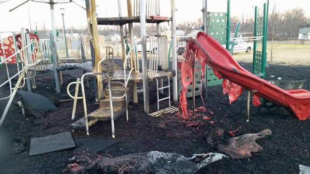 Superintendent: Student Started Sapulpa School Playground Fire