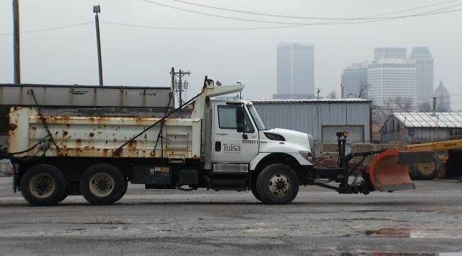 Crews Work To Keep Tulsa Roads Safe For Drivers