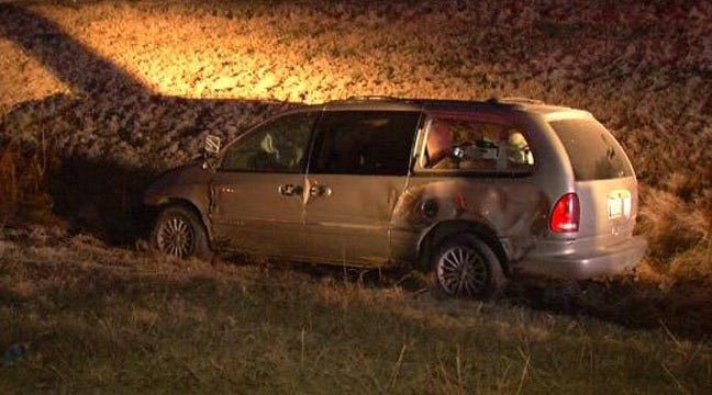 Oklahoma Highway Patrol Responds To Crash Involving Hit-And-Run Driver