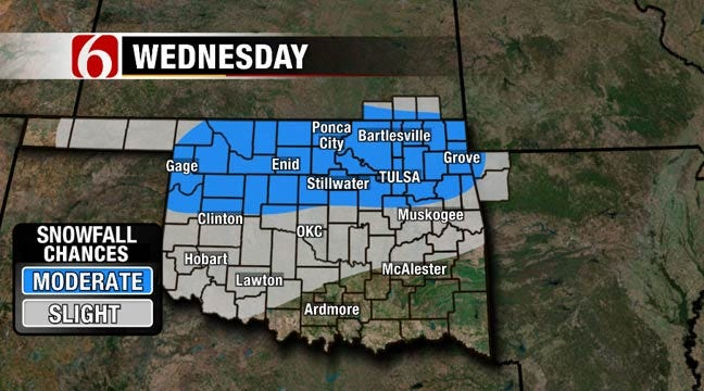 Chances For Freezing Drizzle Continue Through Monday Morning