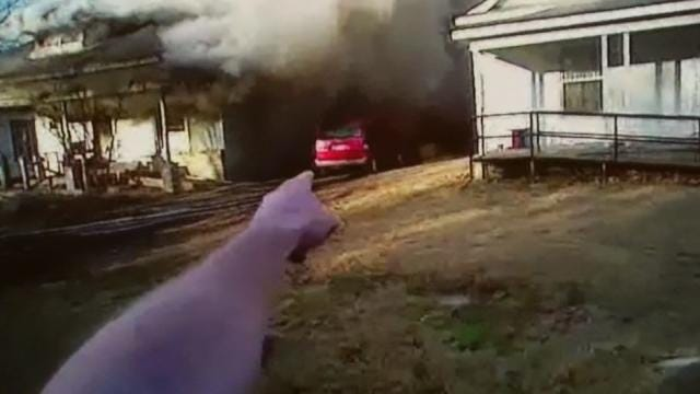 Body Camera Captures Muskogee Officer In Action At House Fire