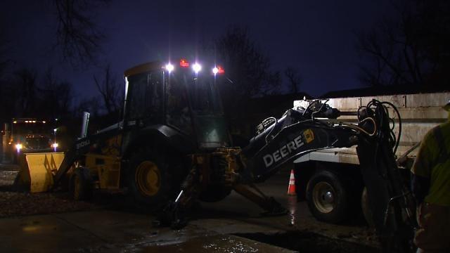 Broken Pipe Shuts Off Water To North Tulsa Neighborhood