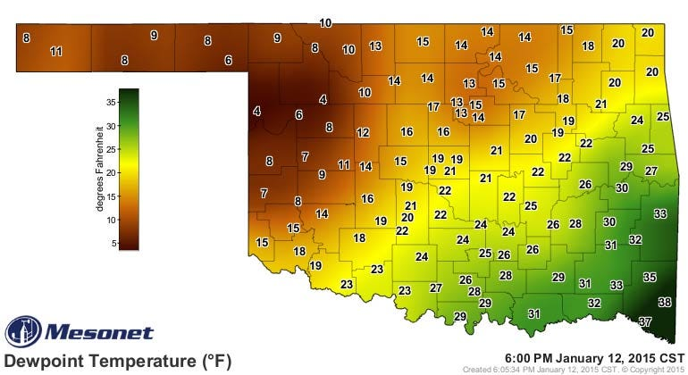 Dick Faurot's Weather Blog: Still Cold, Chance Snow Wednesday; Warmer After That