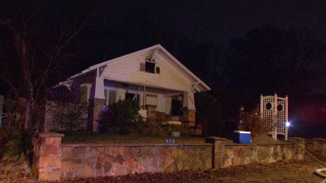 Electrical Fire Damages Vacant Sapulpa House