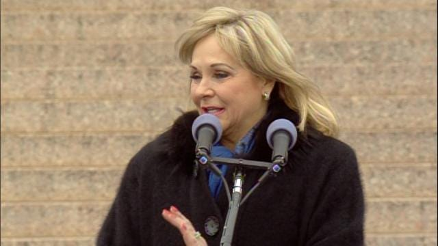 Fallin Pledges To Make Oklahoma Schools, Prisons And Health Top Priorities