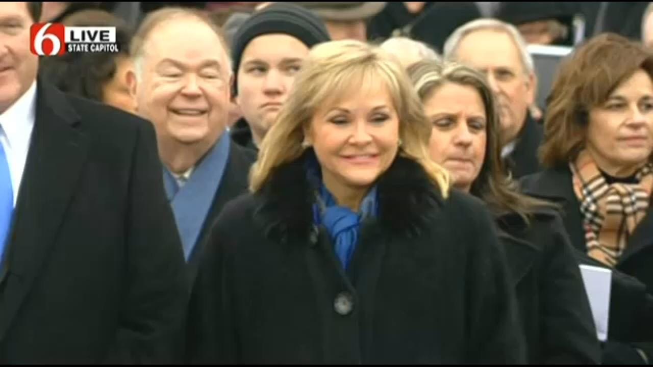 Oklahoma Governor Mary Fallin Sworn In For Second Term