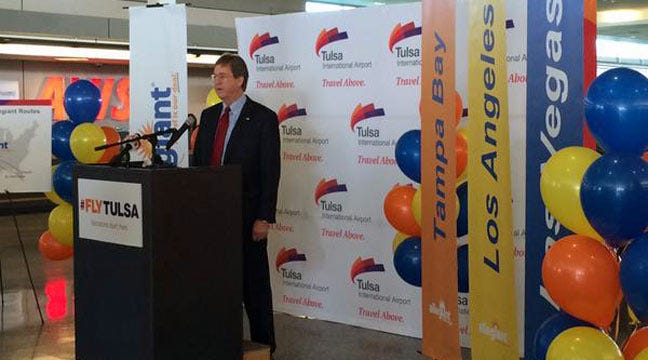 Allegiant Air To Expand Nonstop Service Out Of Tulsa