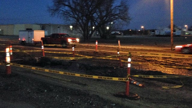 North Tulsa Water Main Fixed Again