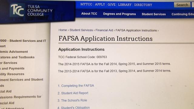 Not Filling Out FAFSA Properly Could Cost Oklahoma Families