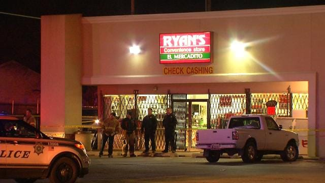 Store Clerk Shoots 2 Men Who Tried To Rob Tulsa Store, Police Say