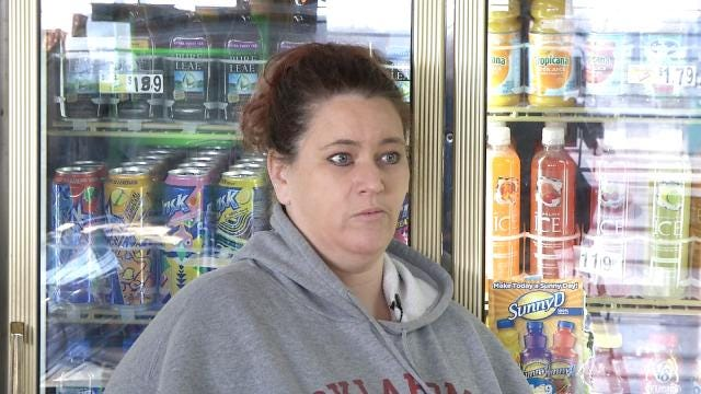 Sand Springs Clerk Hopes Police Catch Man Who Robbed Her