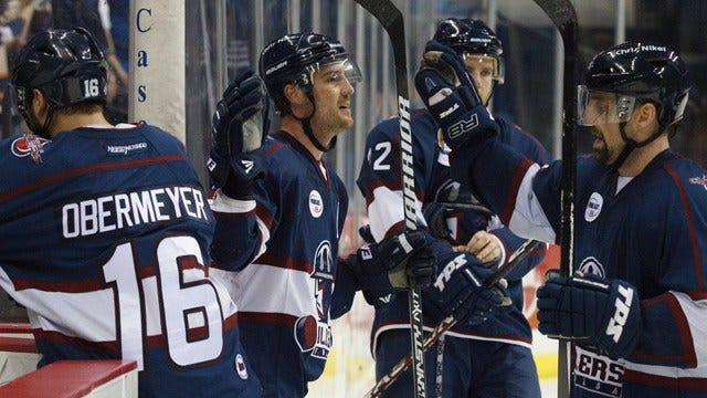 Oilers Four-Game Point Streak Comes To An End