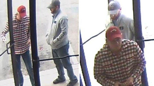 Tulsa Police Search For Suspected Bank Robbers