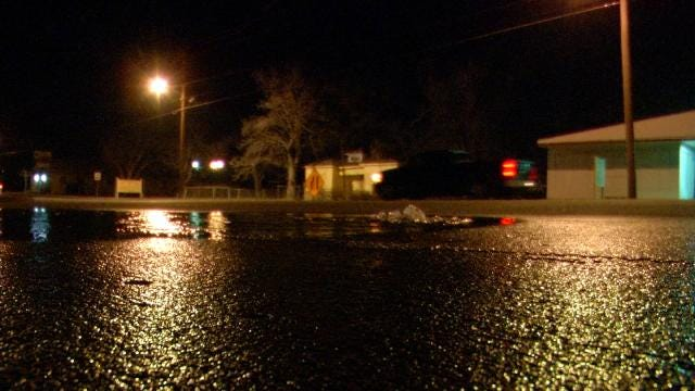 Tulsa To Fix Another Broken Water Line