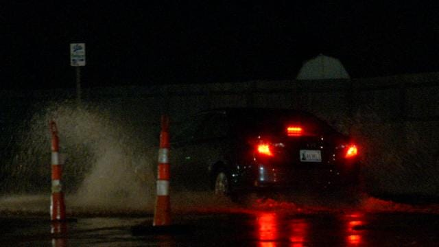 Broken Water Main Floods Tulsa Streets