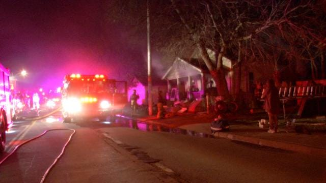 Red Cross Helps Tulsa Couple After House Fire