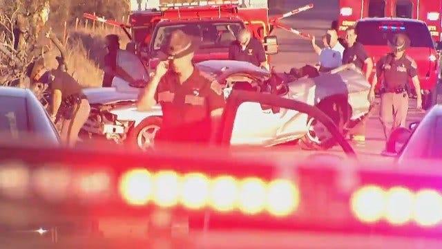 Broken Arrow Teen Killed In High-Speed Wagoner County Wreck