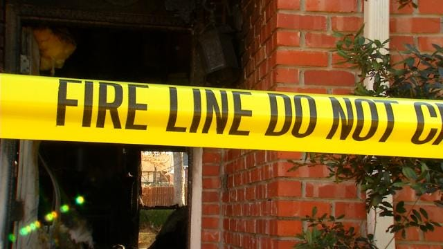 Sand Springs House Fire Investigated As Arson