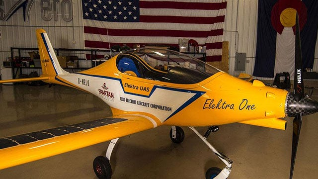 Solar-Powered Airplanes Headed To Tulsa's Spartan College